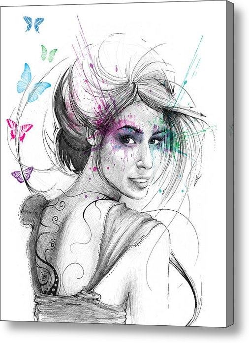 Olga Shvartsur - Queen of Butterflies Print