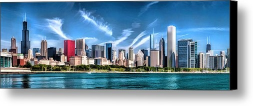 Christopher Arndt - Chicago Skyline Panorama Print