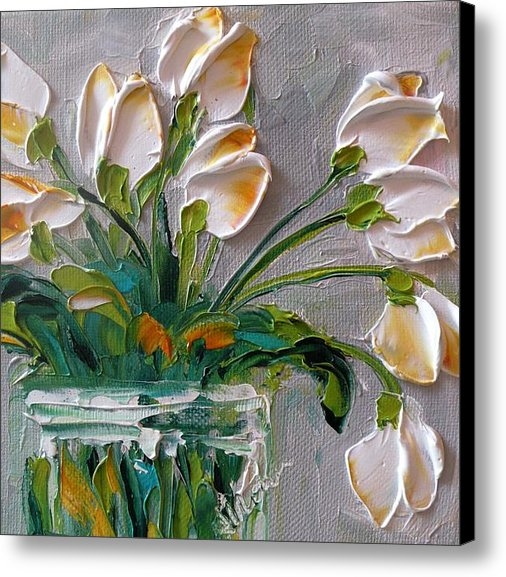 Jan Ironside - Touch of Amber Tulips Print