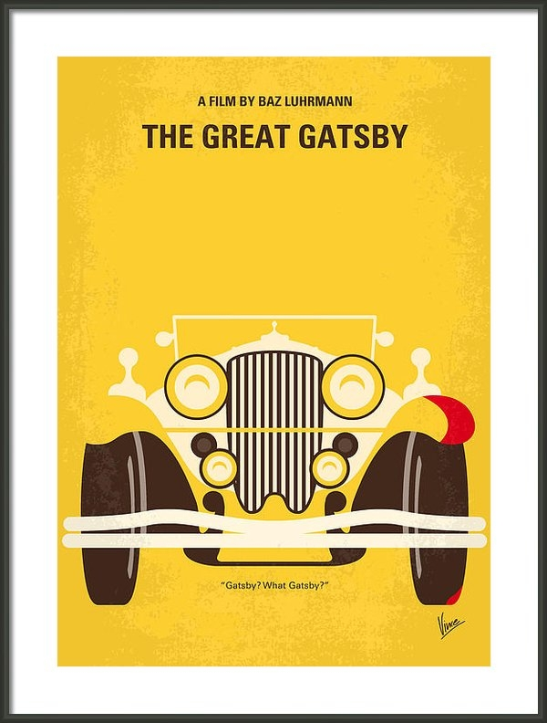 Chungkong Art - No206 My The Great Gatsby... Print