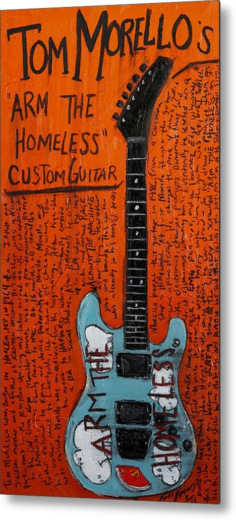 Karl Haglund - Tom Morello Arm The Homel... Print