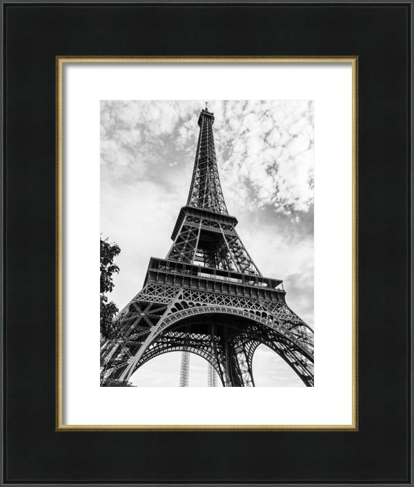 R Morgan - Eiffel Tower - View From ... Print