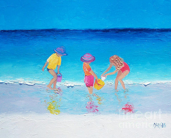 Jan Matson - Beach Painting