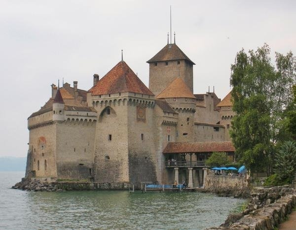 Marilyn Dunlap - Chateau de Chillon Switze... Print