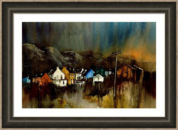 Val Byrne - Cork 2 Allihies Village B... Print