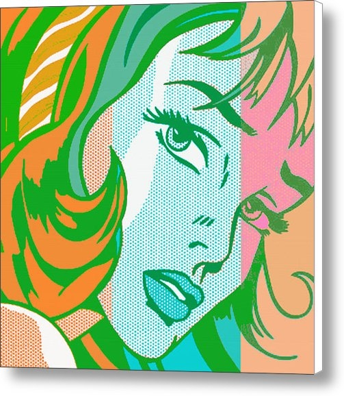 Christian Colman - Pop Girl Print