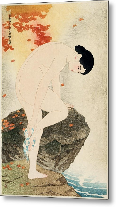Nomad Art And  Design - The Fragrance of a Bath Print