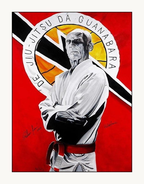 Brian Broadway - Grand Master Helio Gracie Print