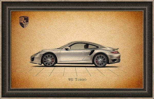 Mark Rogan - Porsche 911 Turbo Print