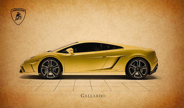 Mark Rogan - Lamborghini Gallardo Print