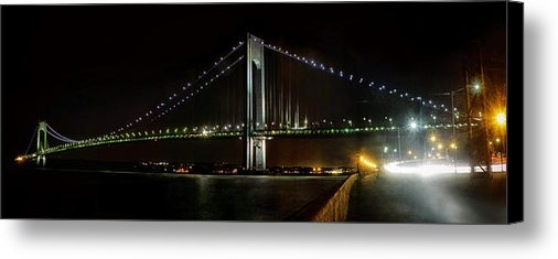 Alex AG - Verrazano Bridge and Huds... Print
