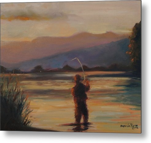 Desiree  Rose - Fly Fishing Print