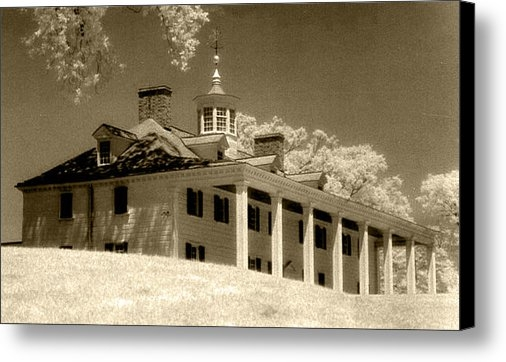 Linda Ryan - Mount Vernon on the Potom... Print