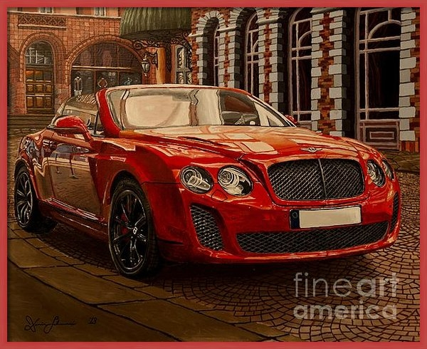 Damir Selmanovic - Bentley Continental Print