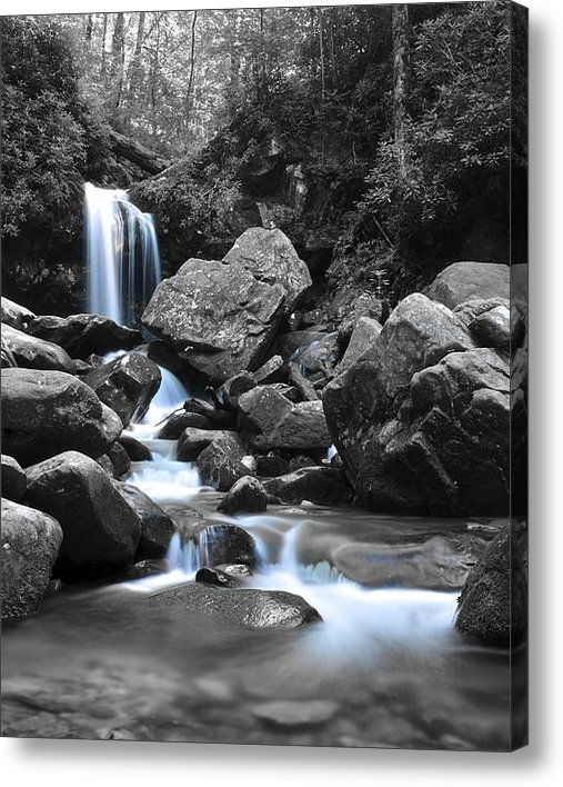 Frozen in Time Fine Art Photography - Grotto Falls Print