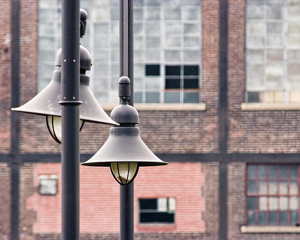 Michael Dorn - Lamp Posts Print