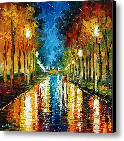 Leonid Afremov - Color Reflections Print