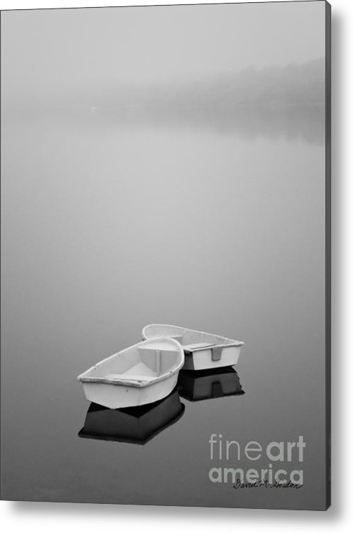 Dave Gordon - Two Boats and Fog Print