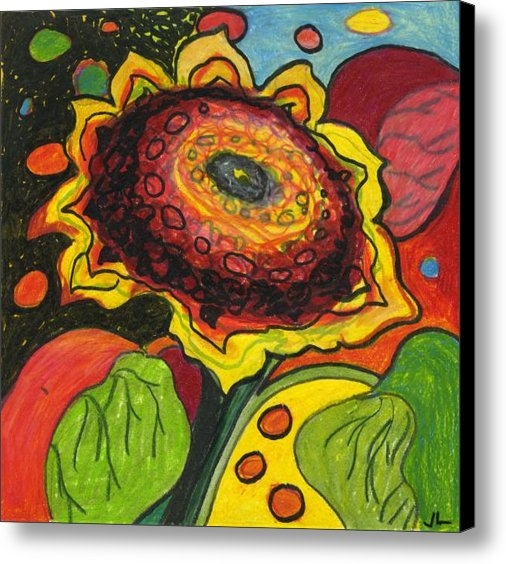 Jennifer Lommers - Sunflower Surprise Print