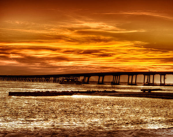 Griffeys Sunshine Photography - Destin sunset Print