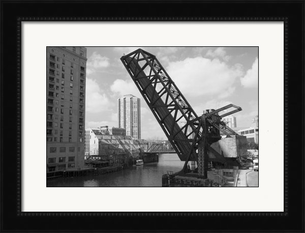 Patrick  Warneka  - Chicago movable bridge Print