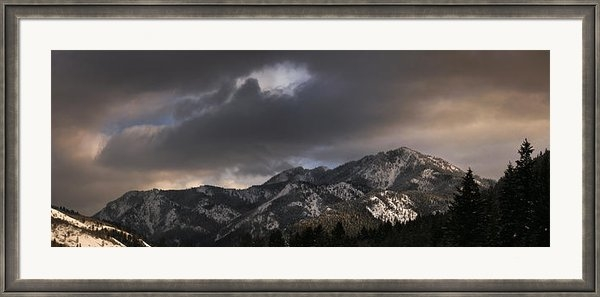 Ryan Heffron - Mountian light Print