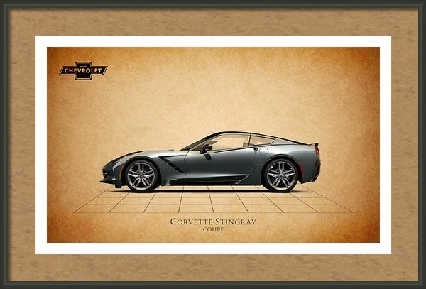 Mark Rogan - Corvette Stingray Coupe Print