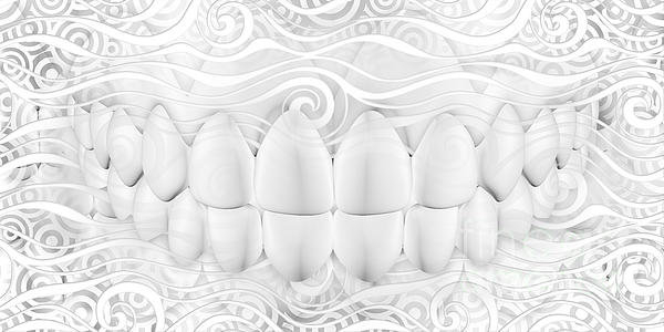 Jolanta Prunskaite - Dental Art For Dentist Print