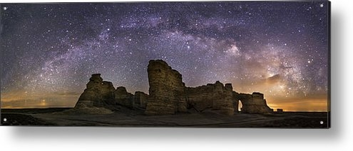 Scott Ackerman - Milky Way over Monument R... Print