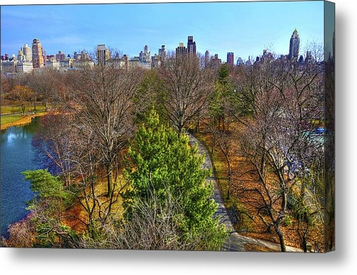 Randy Aveille - Central Park East Skyline Print