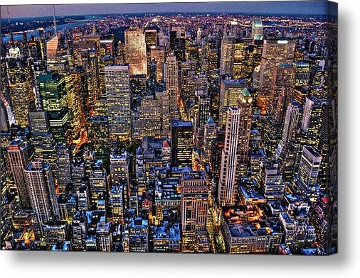 Randy Aveille - Midtown Manhattan Skyline Print
