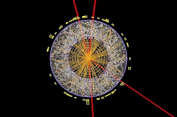 Science Photo Library - Higgs boson event, ATLAS ... Print
