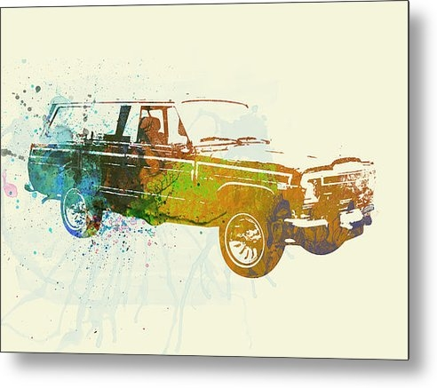 Irina  March - Jeep Wagoneer Print