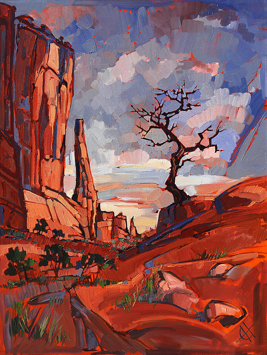 Erin Hanson - Gnarled at Arches Print