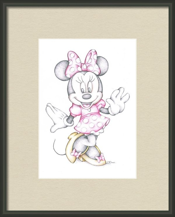 Steven Davis - Minnie Mouse Disney Carto... Print