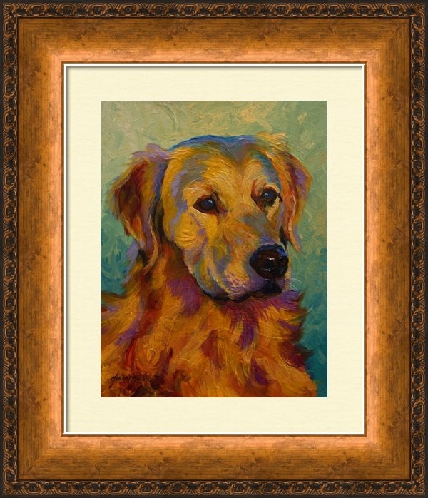 Marion Rose - Golden Retriever Print