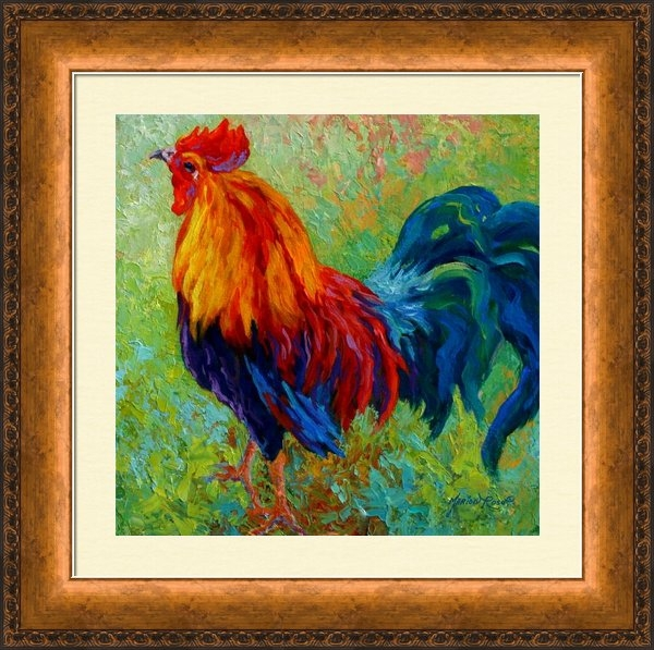 Marion Rose - Band Of Gold - Rooster Print