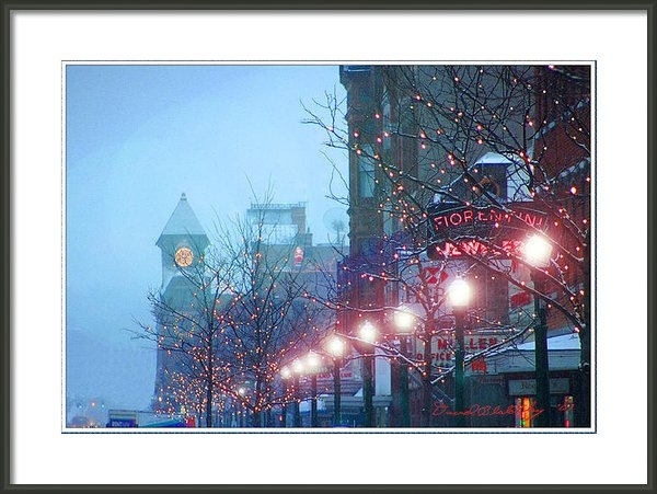 David Blatchley - Downtown WInter Print