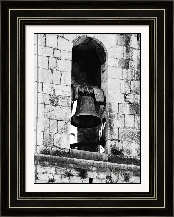 Christine Till - Bell Tower Valbonne Abbey Print