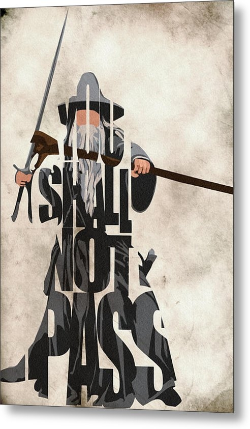 Ayse Deniz - Gandalf - The Lord of the... Print