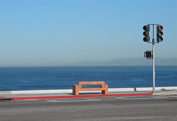 Stuart Hicks - Bench By The Sea Print