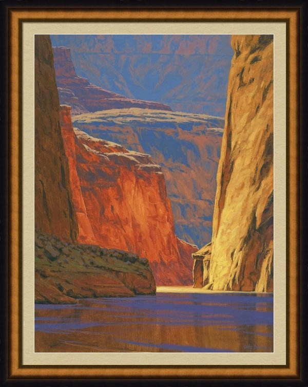 Cody DeLong - Deep in the Canyon Print