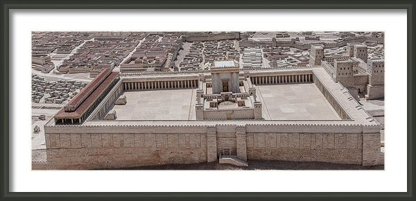 Sergey Simanovsky - Second Temple Print