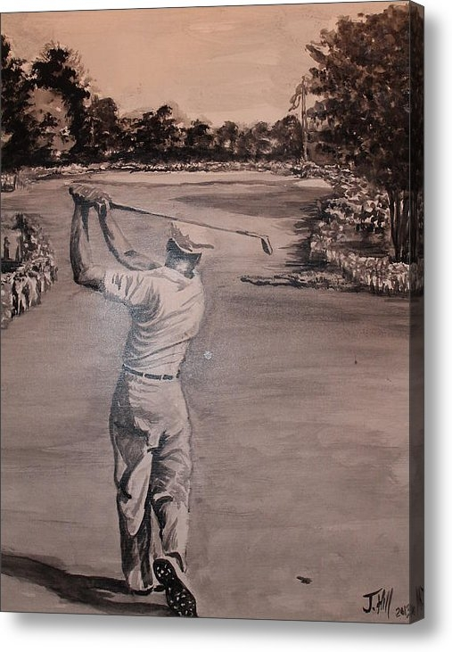 Jason Hill - Ben Hogan Print