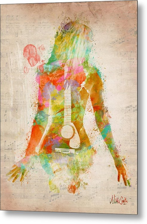 Nikki Marie Smith - Music Was My First Love Print