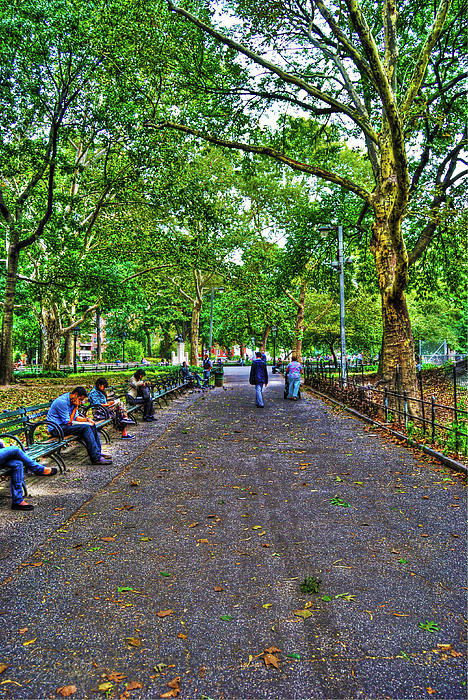 Randy Aveille - Washington Square Park Print