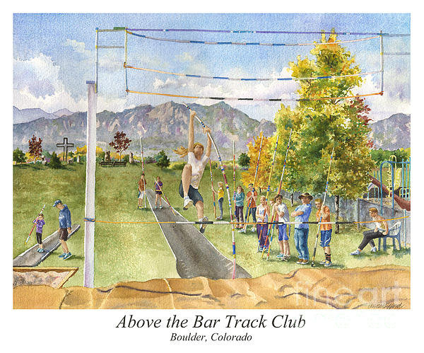 Anne Gifford - Above the Bar Track Club ... Print