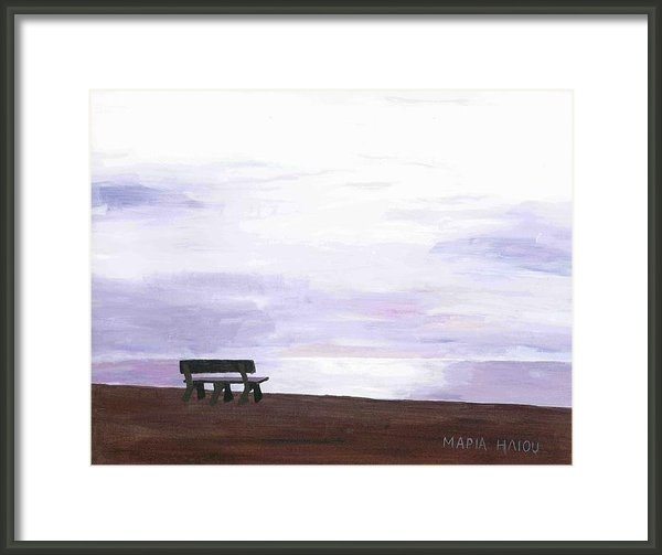 Maria Iliou - Beach at Cape Cod Print
