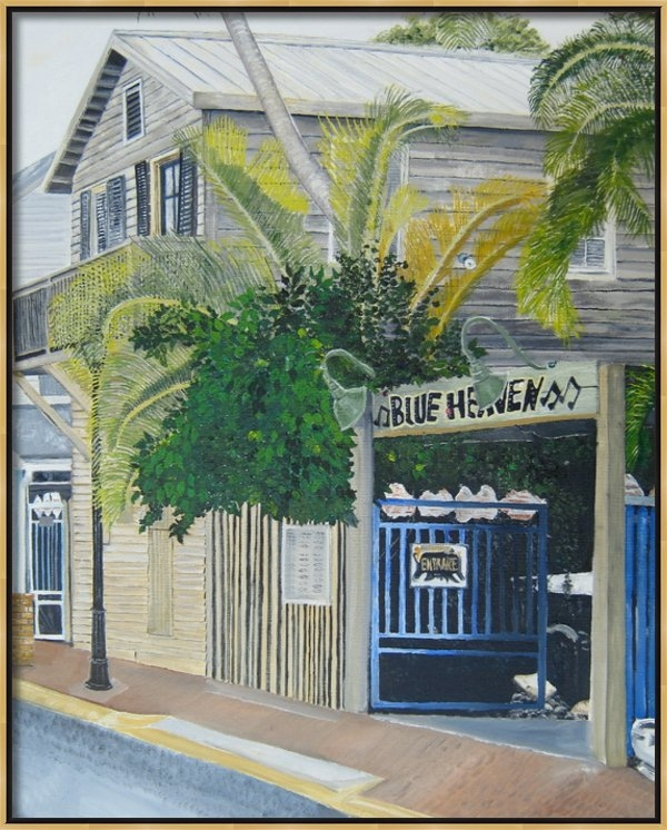 John Schuller - Key West Blue Heaven Print