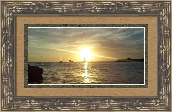 Stefanie G Reay - Key West Sunset Print